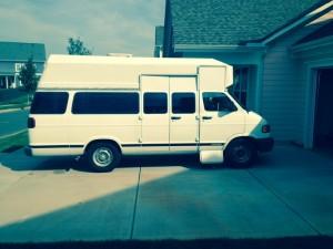 Old Monster Van